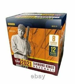 2021 Panini Diamond Kings Usine Scellée Hobby Box