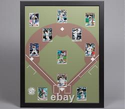 Baseball Display Board Trading Card Sports Field Frame 22x28