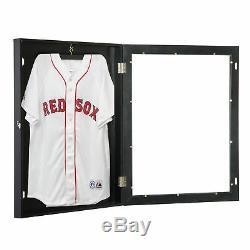 Bois Jersey Display Frame Case Shadow Box Football Baseball