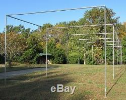 Cage De Frappeurs Kit Cadre 12' X 14' X 70' Ez Up & Down Baseball Softball Kit Frame