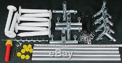 Cage Kit Frappeurs Cadre 10' X 12' X 30' Ez Up & Down Baseball Softball Kit Frame
