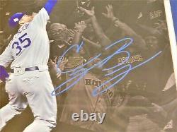 Cody Bellinger Dodgers Signed 16x20 Spotlight Photo Framed Fanatics Coa