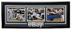 Derek Jeter À New York Yankees Framed 18x34 Greats Moments Photos