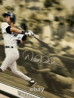 Derek Jeter Ny Yankees Signé 16x20 Limited Edition Framed Photo /102 Steiner