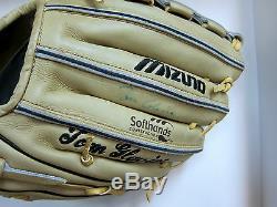 Encadré Tom Glavine Nike Chaussures De Baseball-mizuno Gant-ball Chauve-souris Louisville Slugger
