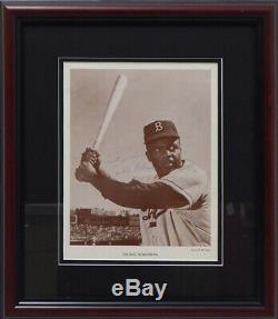 Jackie Robinson Autographié Encadrée De Photo Dodgers Meilleur Wishes Psa Ac06001
