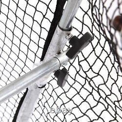 Kapler Baseball Batting Practice Cage Net Mobile Roues Et Haute Résistance Cadre