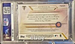 Kris Bryant Autographié / Signé 2018 Topps Triple Threads Relic Card Gem Mt 10