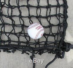 L-écran 6' X 6' Safety Professional Baseball Cadre & # 42-60ply Pitcher L Écran