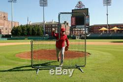 L-écran 7' X 7' Safety Professional Baseball Cadre Et 90ply Xtra-heavy Duty