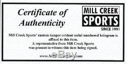 Mariners Ken Griffey Jr. Autographié Encadrée Majestic Jersey Hof Tristar 177410