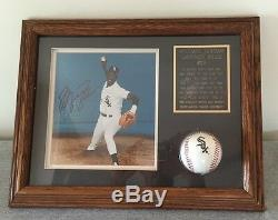 Michael Jordan Autograph Framed White Sox Photo / Baseball -garantie Authentique