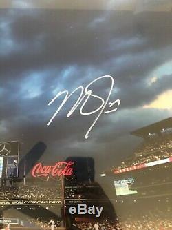 Mike Trout Autographié Avec Cadre Photo 16x20 Los Angeles Angels Mlb Holo 146658