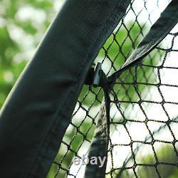 Oriengear 20ft Baseball Batting Cage Filet Et Cadre Softball Frapper Filet Cage