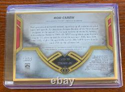 Topps 2020 Transcendant Hall Of Fame Gold Frame Rod Carew Auto 25/25 Hof