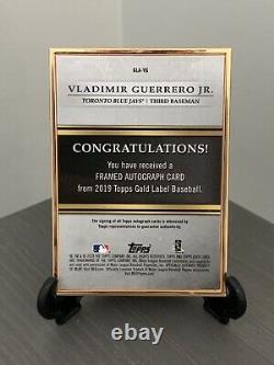 Topps Gold Label 2019 Baseball Blue Parallel Auto. 30/50 Sp Vladimir Guerrero Jr