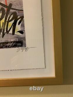 Topps Project 2020 Fine Art Print #14 Gold Framed Jeter Par King Saladeen #1/1