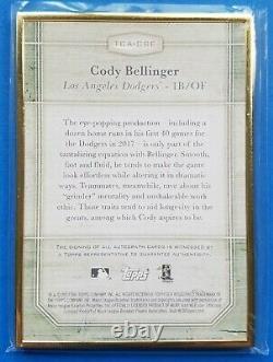 Topps Transcendent Cody Bellinger Gold Framed /25 Rookie Rc Auto Autograph 2017 Topps Transcendent Cody Bellinger Gold Framed /25 Rookie Rc Auto Autograph