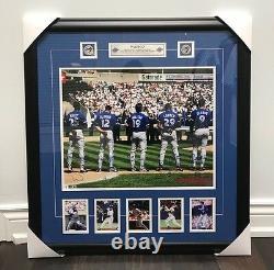 Toronto Blue Jays 1993 Wamco 16x20 Signed Photograph Baseball Holofoil Encadré