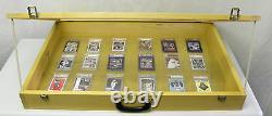 Vitrine P302b Cartes De Baseball, Bijoux, Vitrine De L'exposition De Pièces De Monnaie